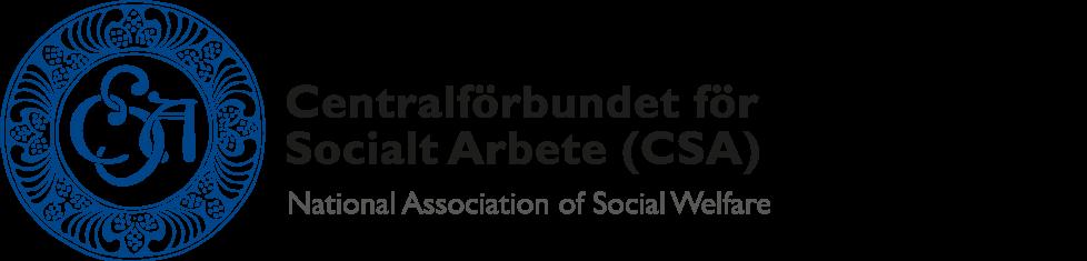 Centralförbundet för Socialt Arbete (CSA) Logo