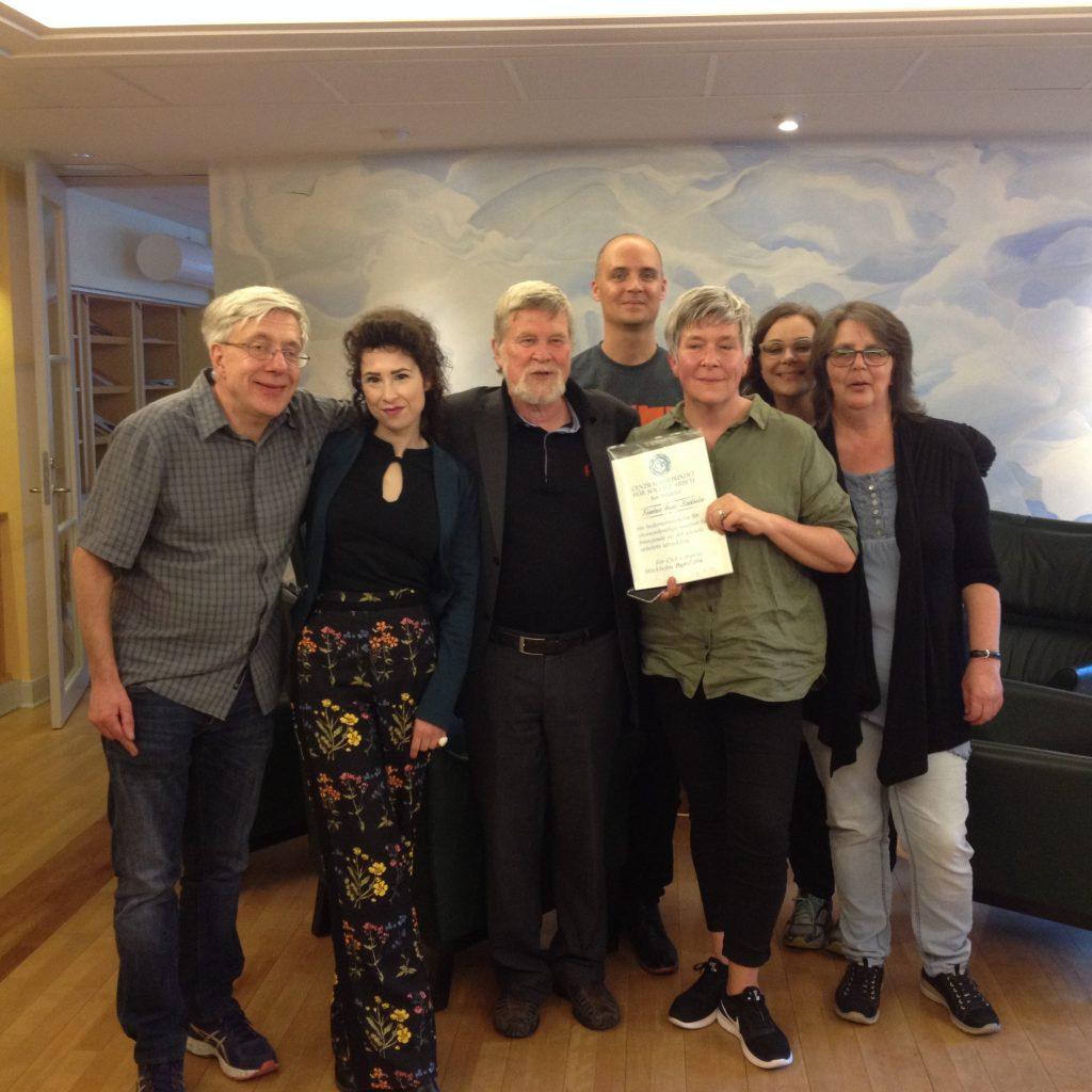2016 års hedersstipendium till Fountain House, Stockholm